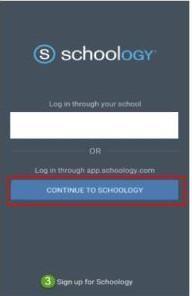 Mobile App Log In