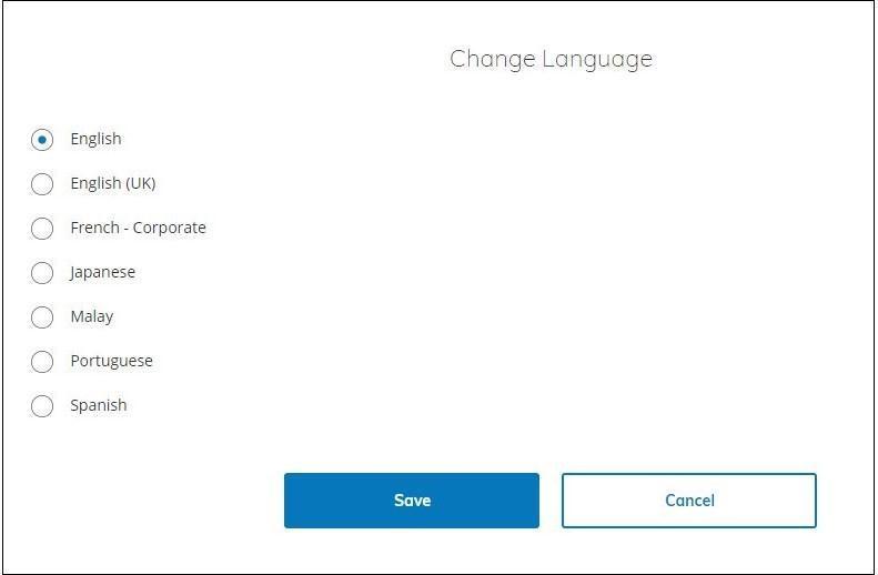 Preferred Language