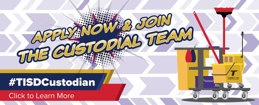 Apply Now & Join the Custodial Team