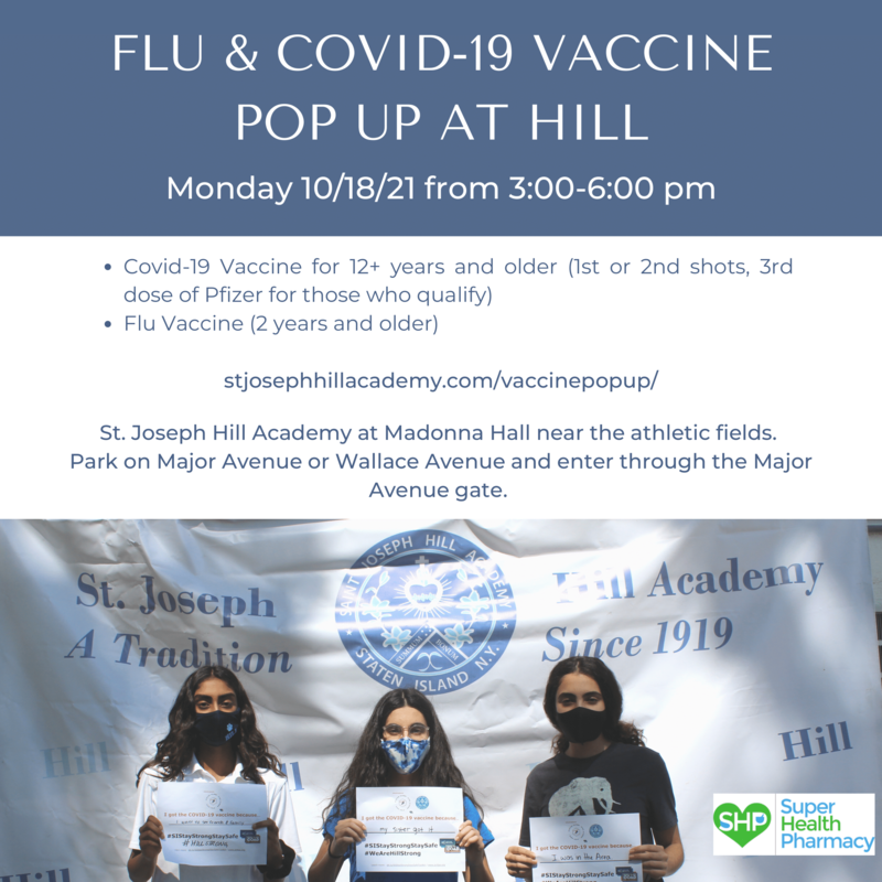 Flu and Covid-19 Vaccine Pop Up Featured Photo