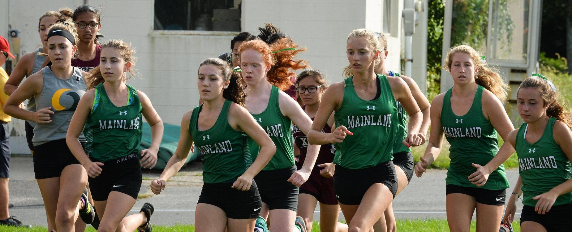 Mainland girls track team
