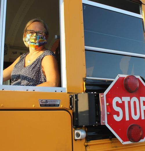 奇塔姆县的校车司机已经为2020-2021学年做好了准备.