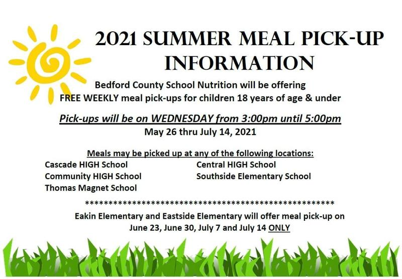 2021 Summer Meal Pick-Up Featured Photo