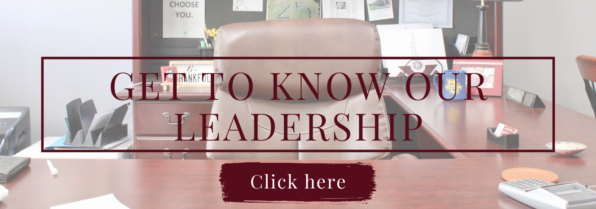 Get to know our leadership