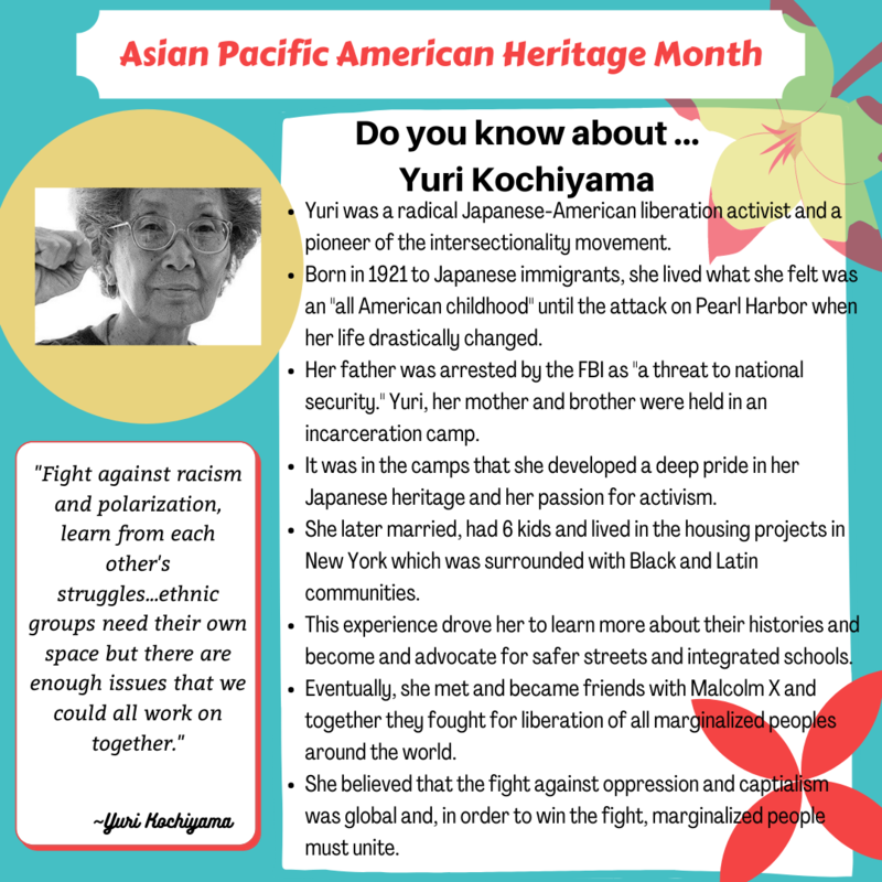 Asian Pacific Month