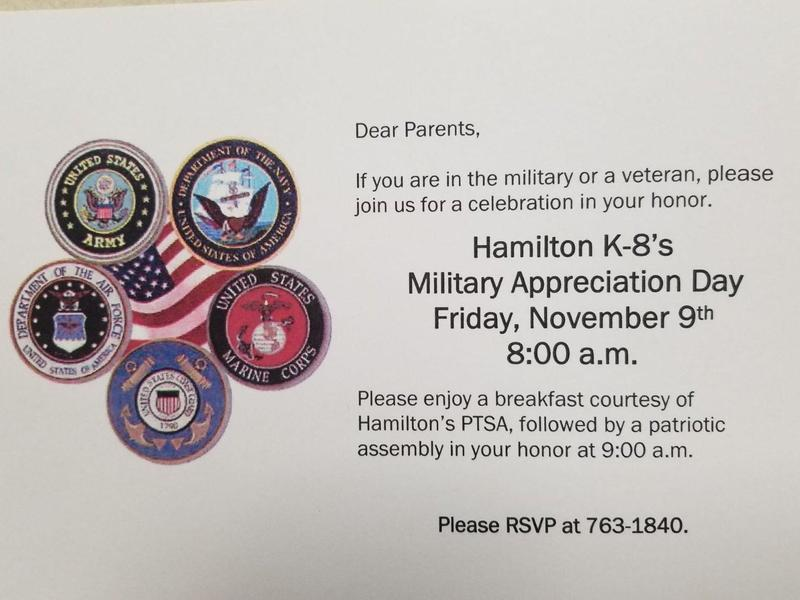 Military Appreciation Day flyer