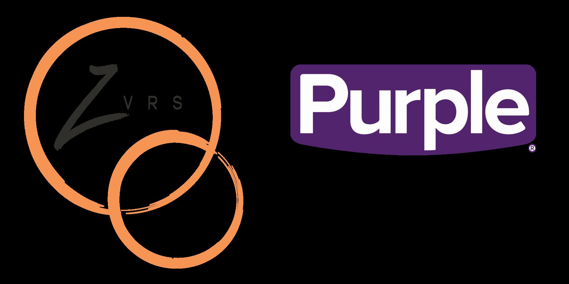 ZVRS/Purple logo