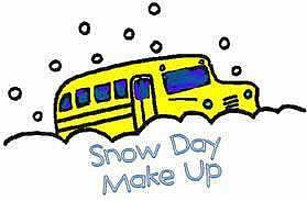 Snow Day Make-up Date May 21, 2020 Featured Photo