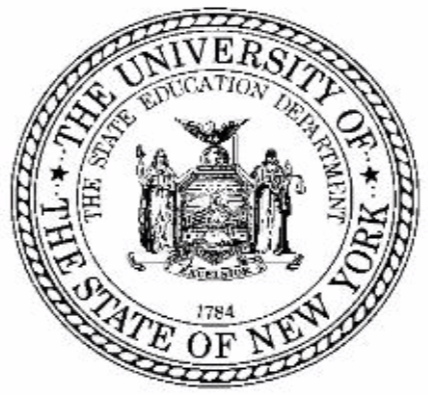 Seal of the University of the State of New York