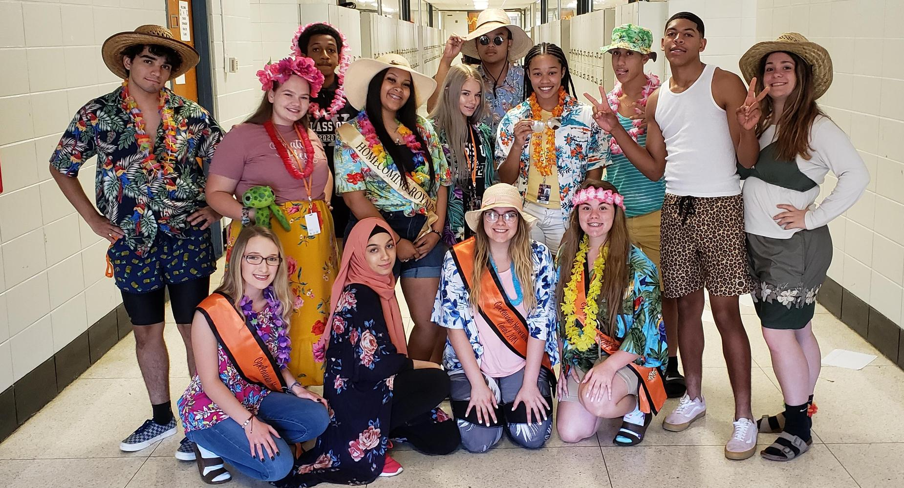 Homecoming Tropical Tuesday