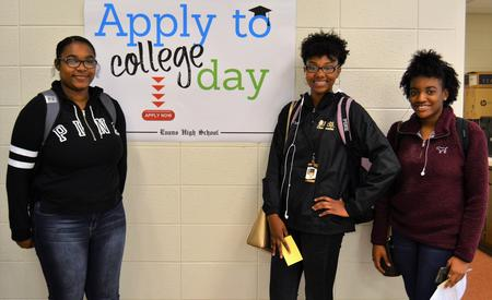 apply to college day sign