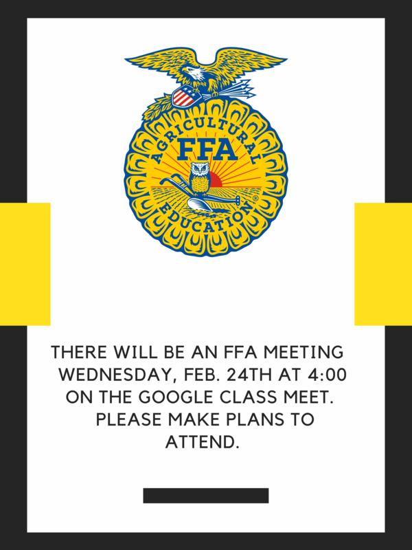 FFA Meeting Thumbnail Image