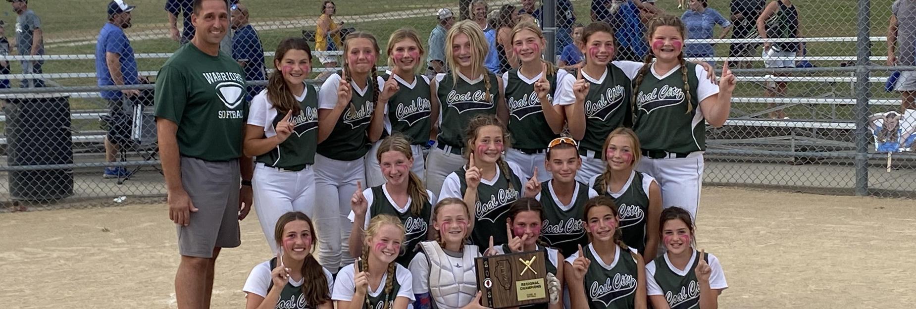 Softball girls win Regionals