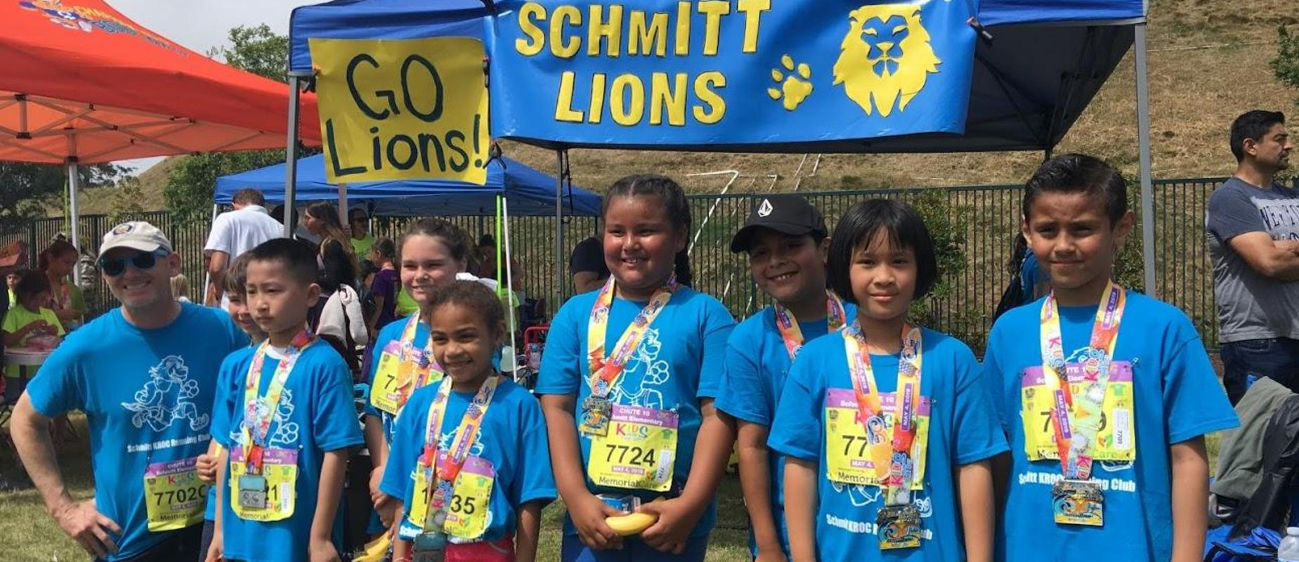Schmitt Elementary at OC Fun Run
