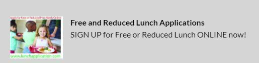 Sign up for free/reduced lunch