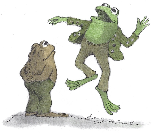 toad and jumping frog