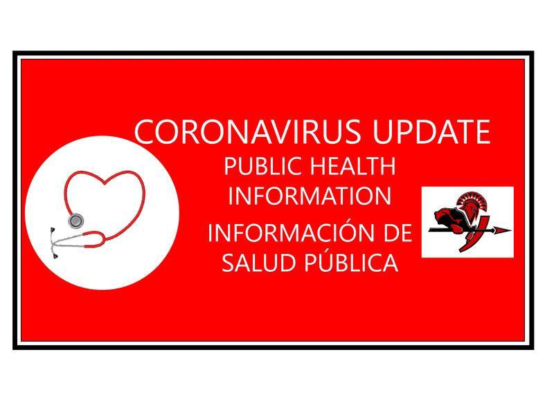 Photo of Coronavirus information