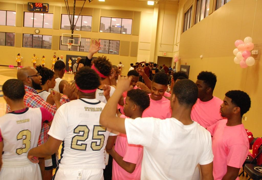 CPA Titans varsity basketball, Pink Out Game 2017