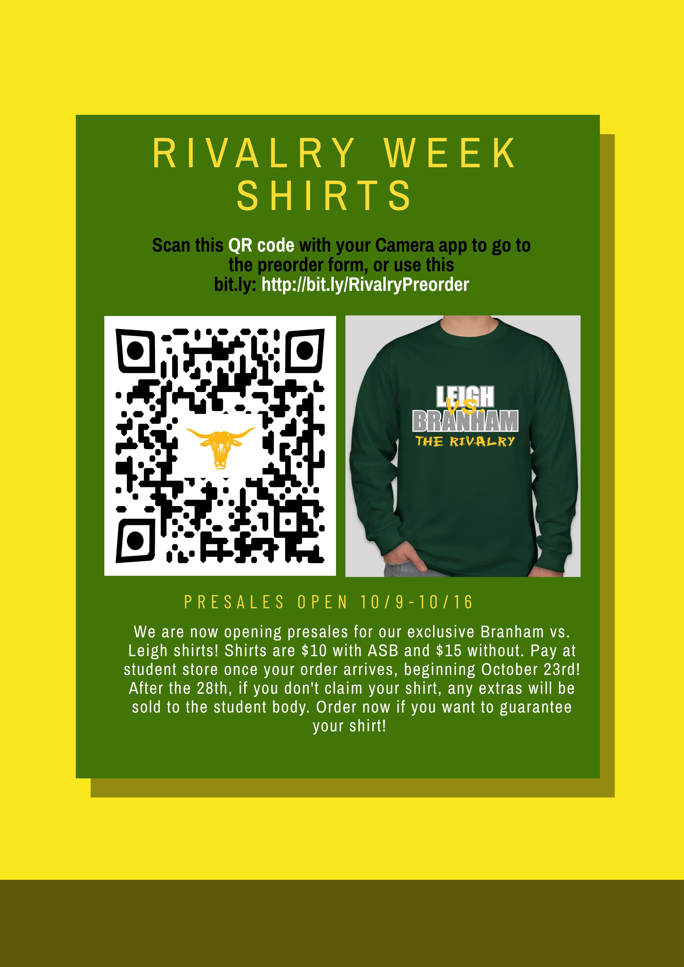 Rivalry Week Shirt