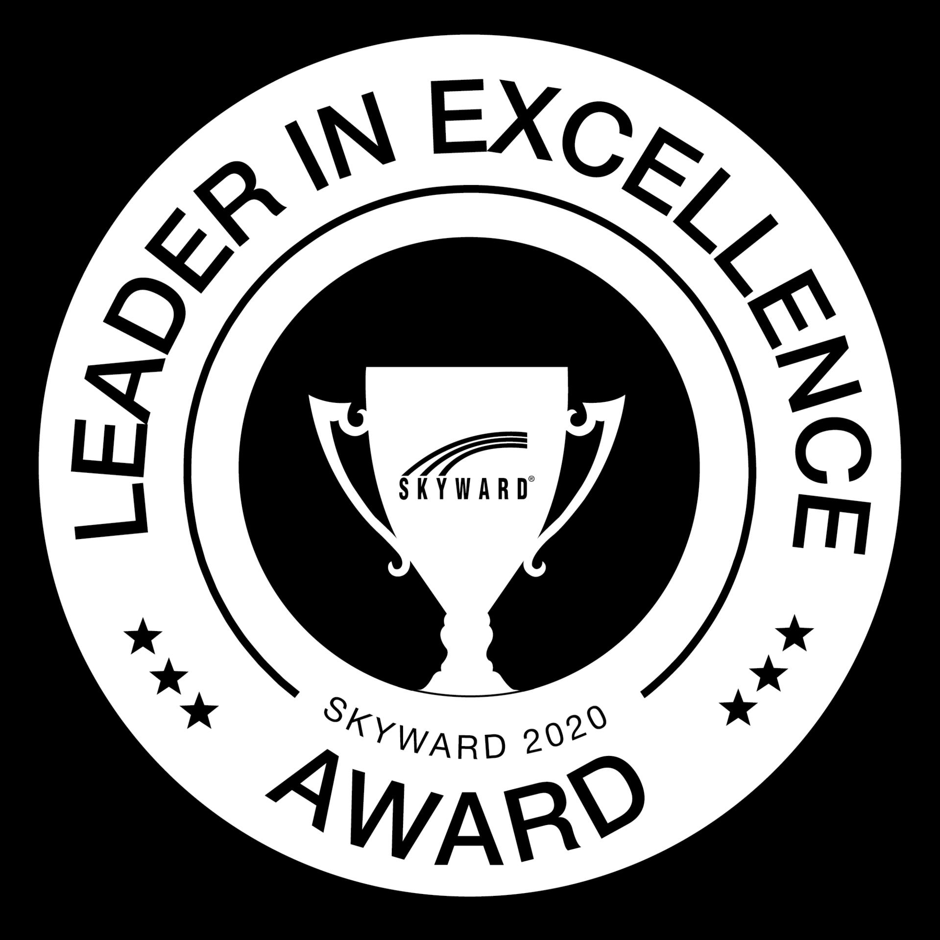 leader in excellence award logo