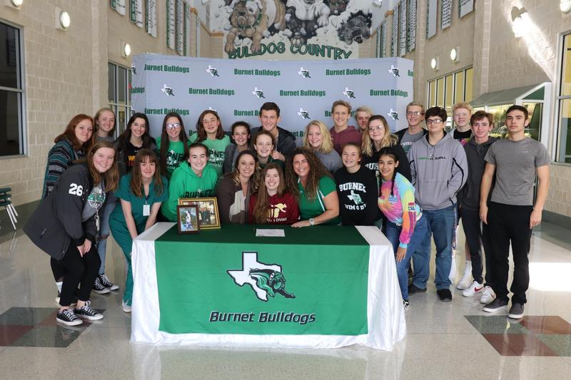 BHS Swimmer Signs Commitment Thumbnail Image