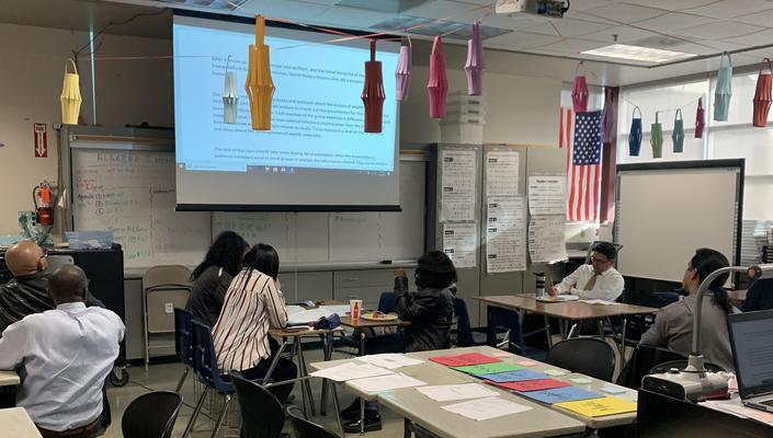 teacher presentations