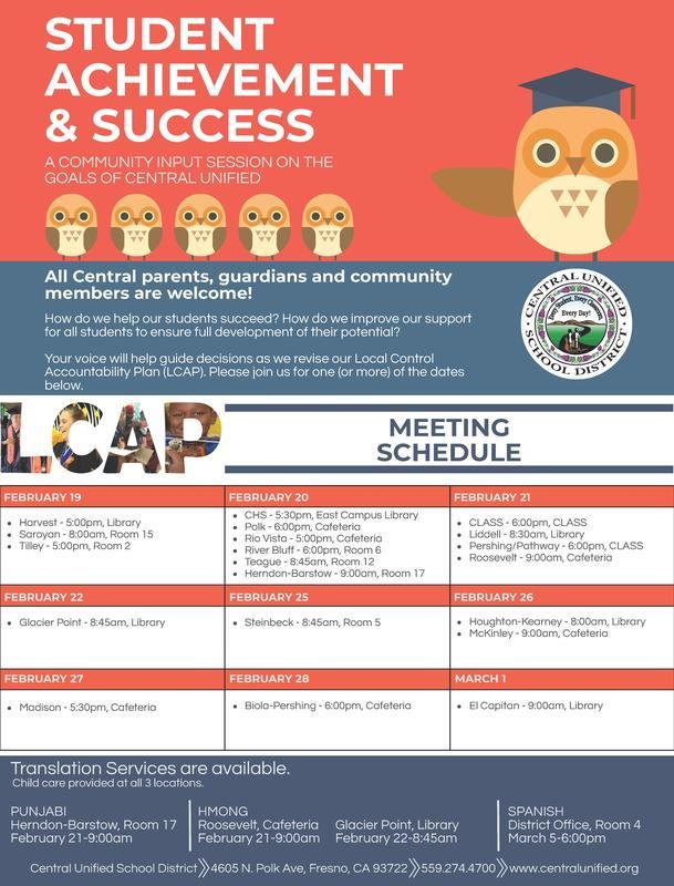 LCAP Flyer