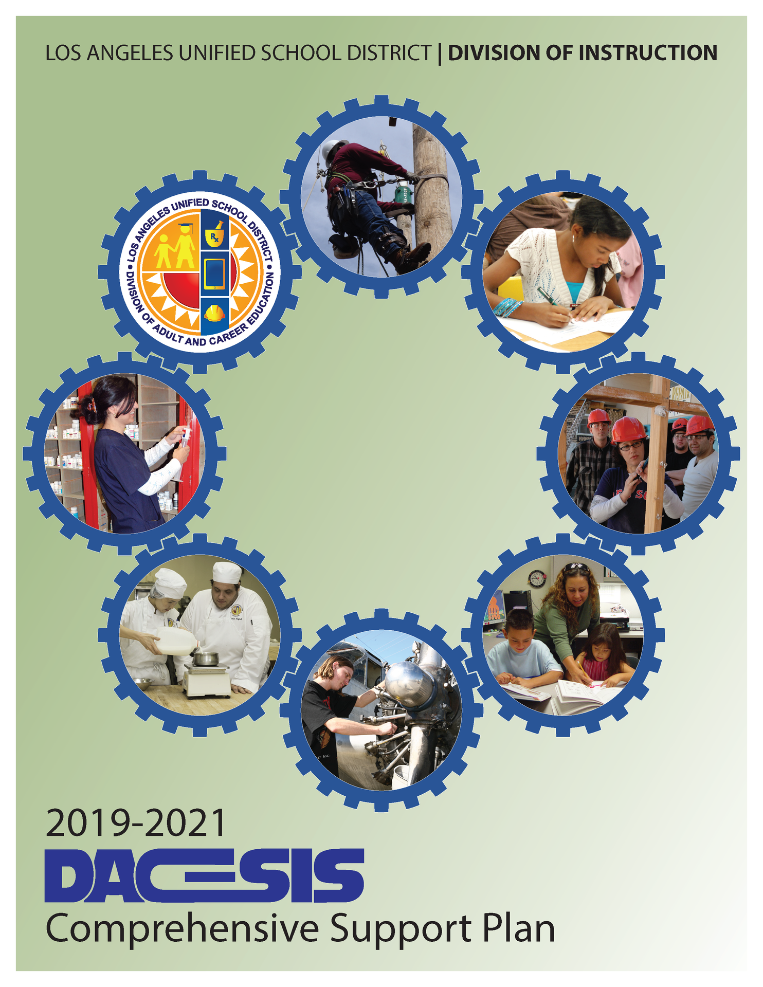 DACE-SIS Comprehensive Support Plan cover