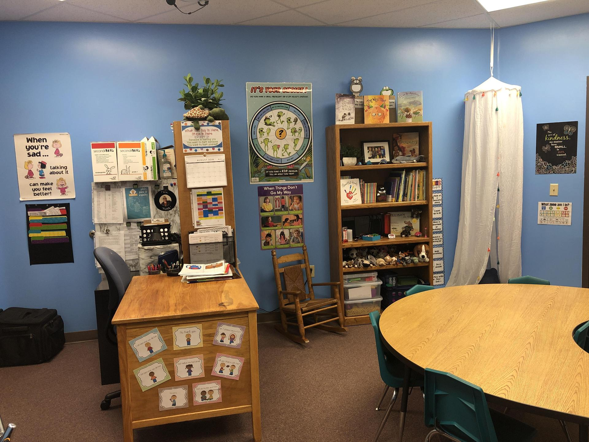 Picture of counseling office.