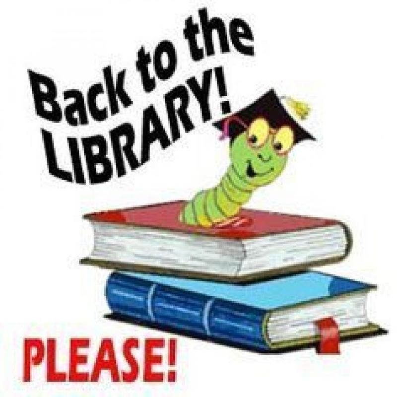 TURN IN LIBRARY BOOKS! Thumbnail Image