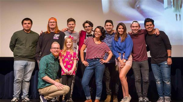 DPHS students win top award at student film festival