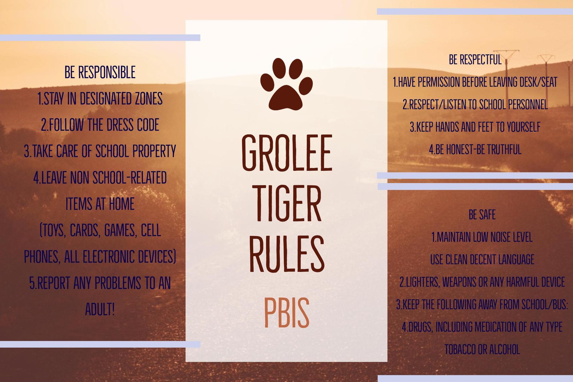 Rules PBIS