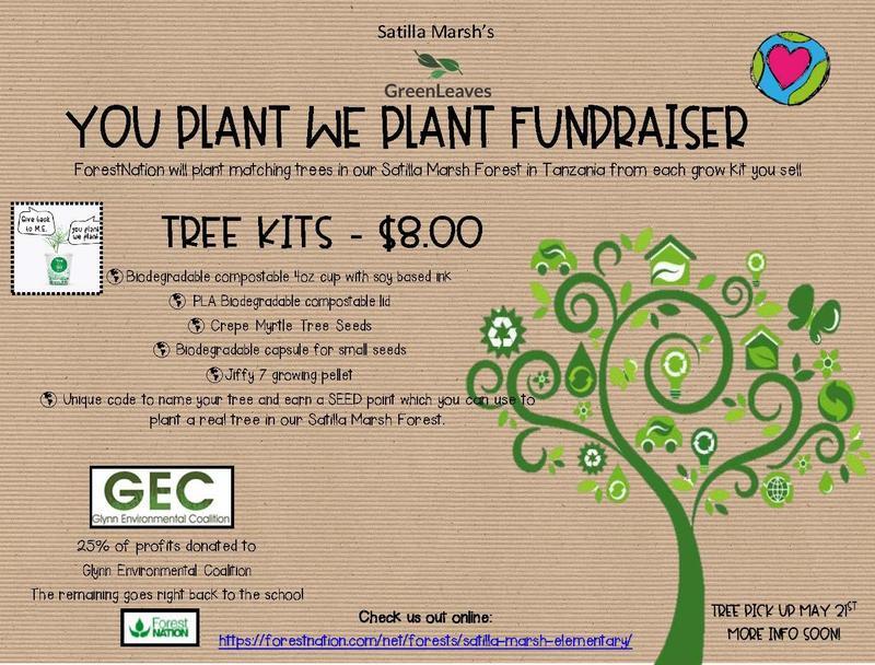 we plant you plant fundraiser information