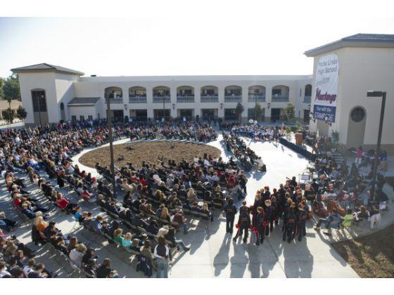 YLHS dedication day, December 10th, 2009
