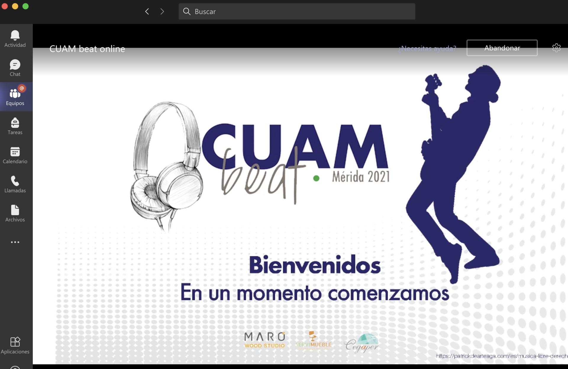CUAM Beat Mérida 2021