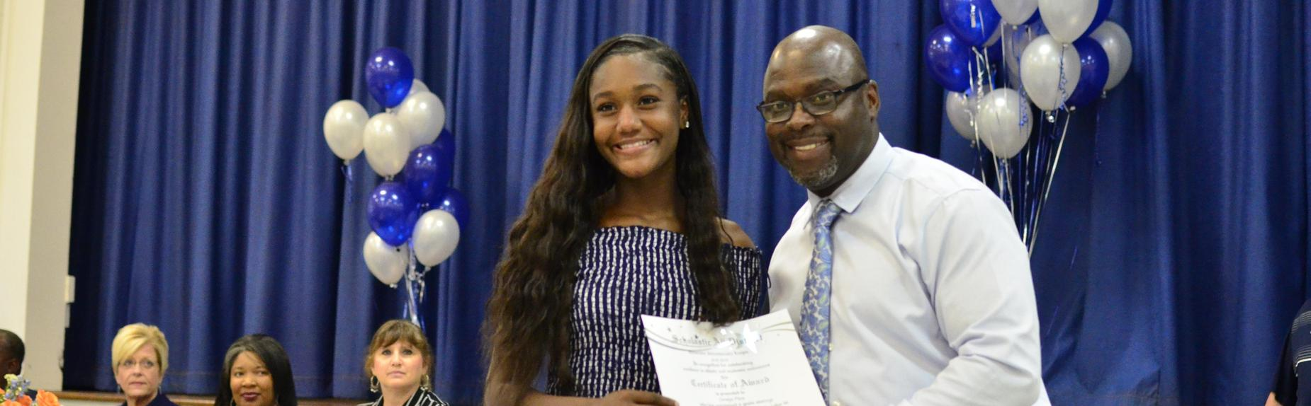 Scholastic All District Athletic Team Chrislyn Pitre