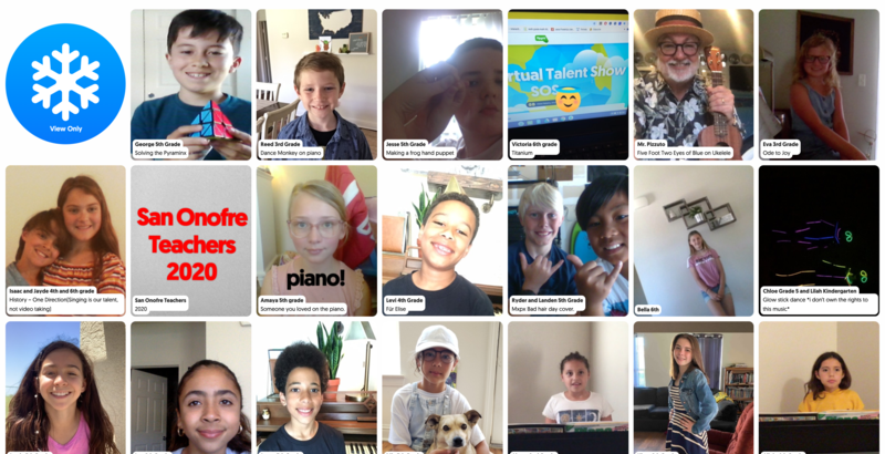 Our 2020 Virtual Talent Show is Live! Featured Photo