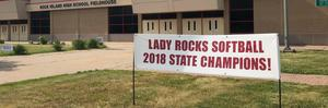 Lady Rocks Softball Champions