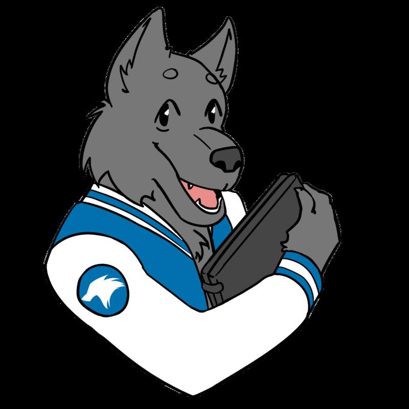 Wolfie the BVVA Wolf