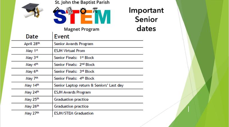 Important Senior Dates to Remember! Thumbnail Image
