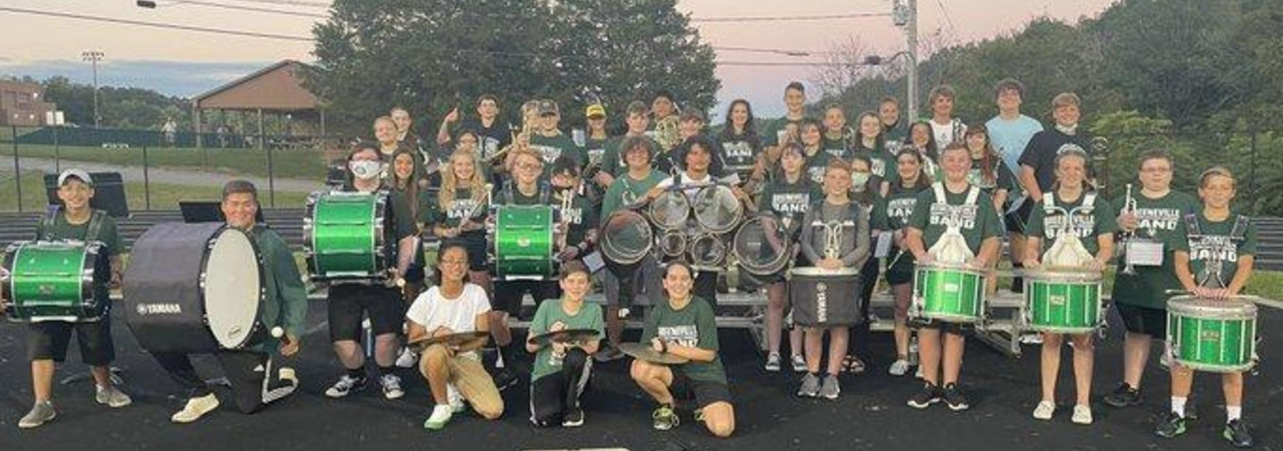 a picture of the GMS band