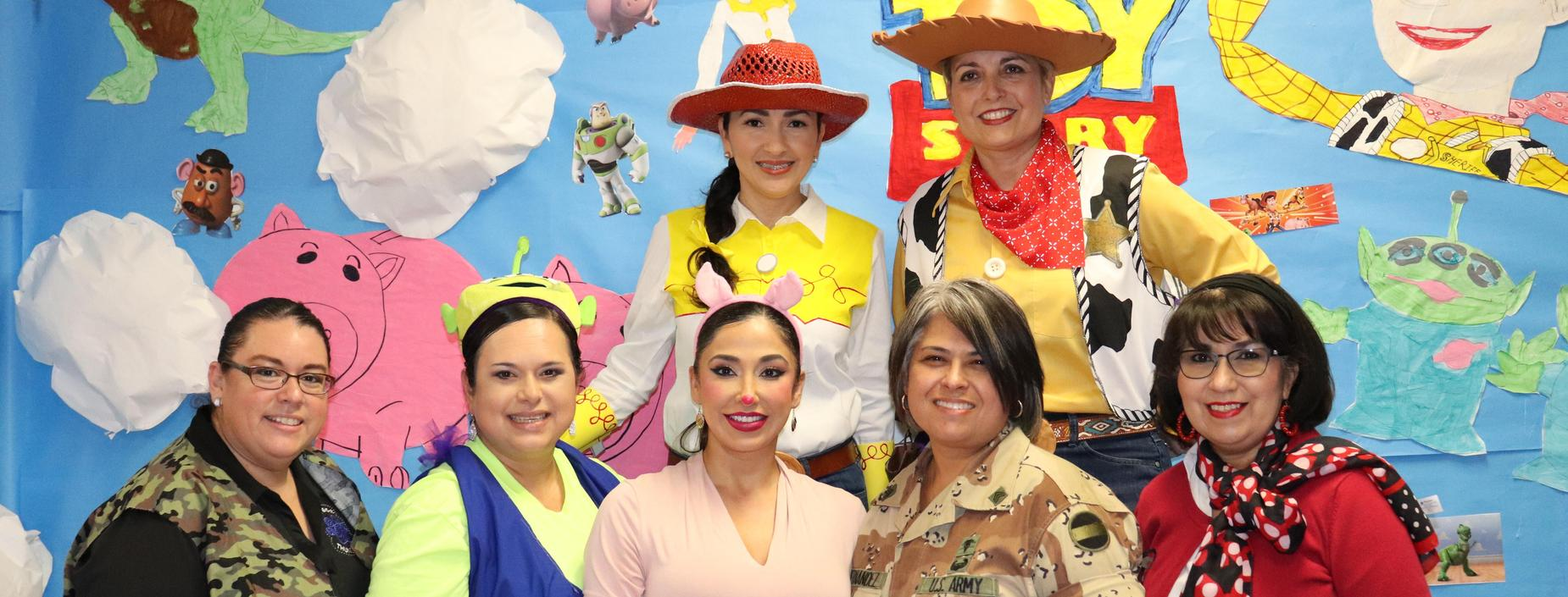 picture of Gorena staff at fall festival