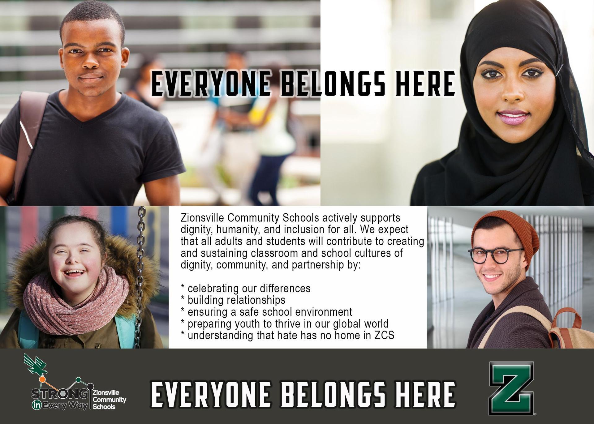 Everyone Belongs Here