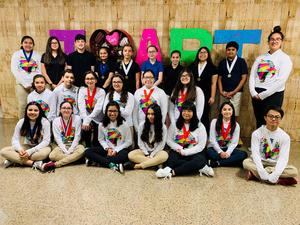 SMS Art Students attend Art Competition