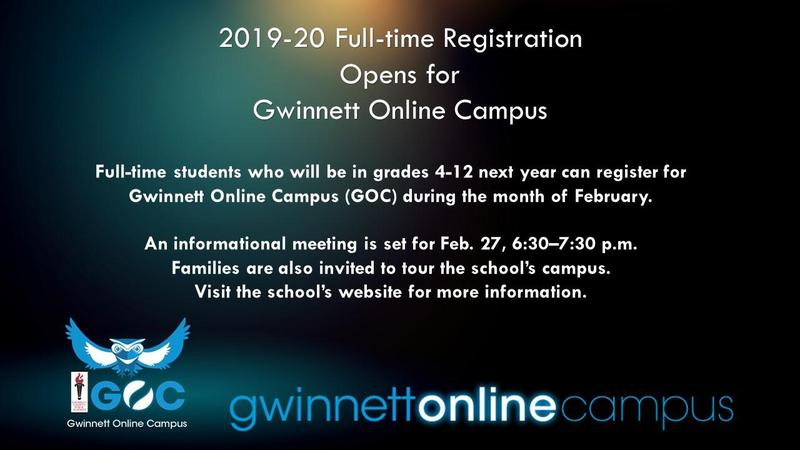 2019-20 registration window opens for Online Campus Thumbnail Image