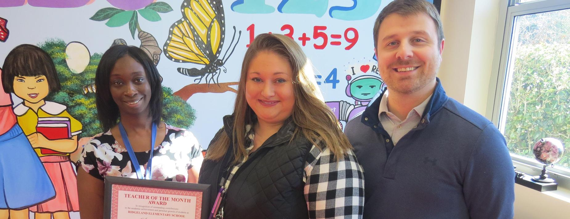 January Teacher of the Month
