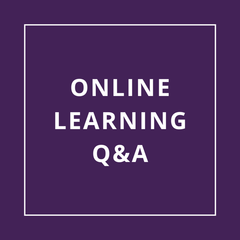 Online Learning Q&A: Updated March 20th Thumbnail Image