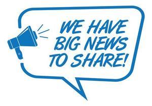 Big News to share