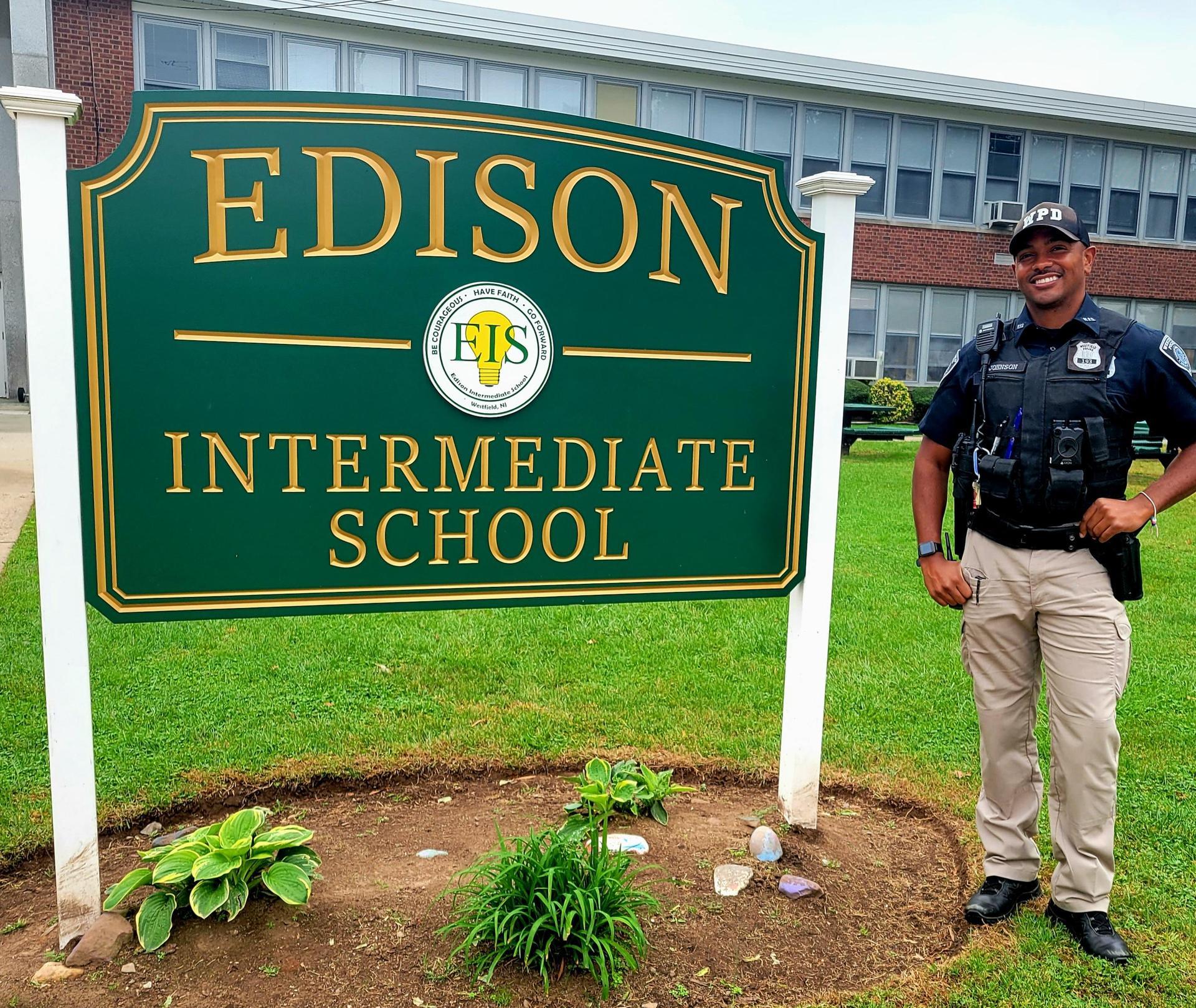 Photo of Officer Johnson