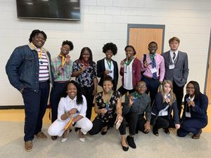 FCTC Student Winners in FBLA District Competition
